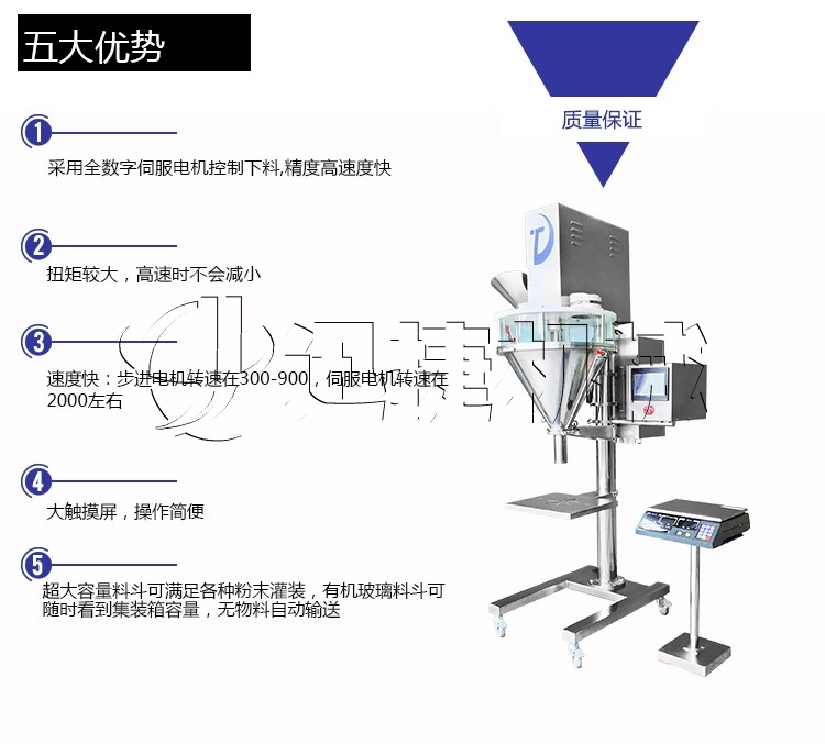ZX-F半自动粉剂包装机